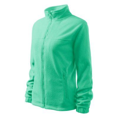 bluza fleece dama jacket verde menta