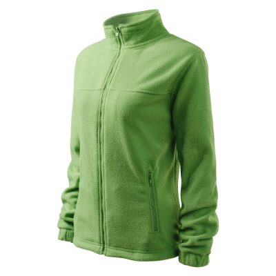 Bluza fleece dama Jacket verde iarba