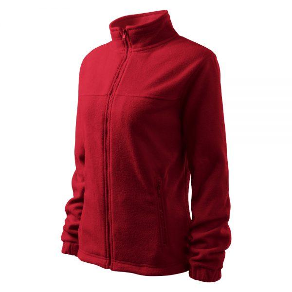 Bluza fleece dama Jacket rosu m