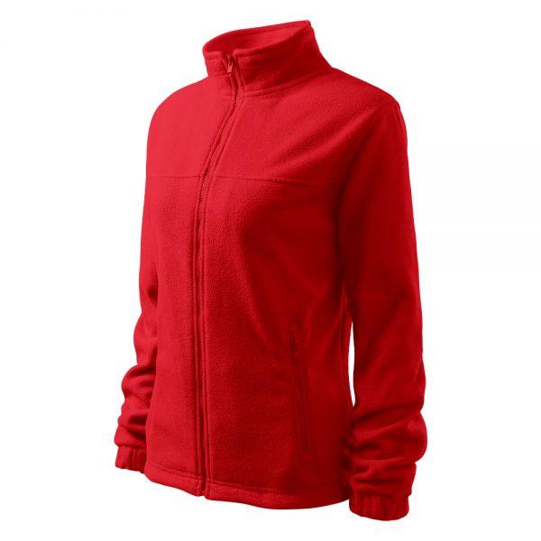 Bluza fleece dama Jacket rosu