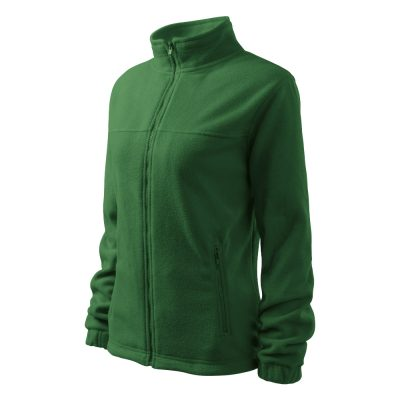 Bluza fleece dama Jacket verde