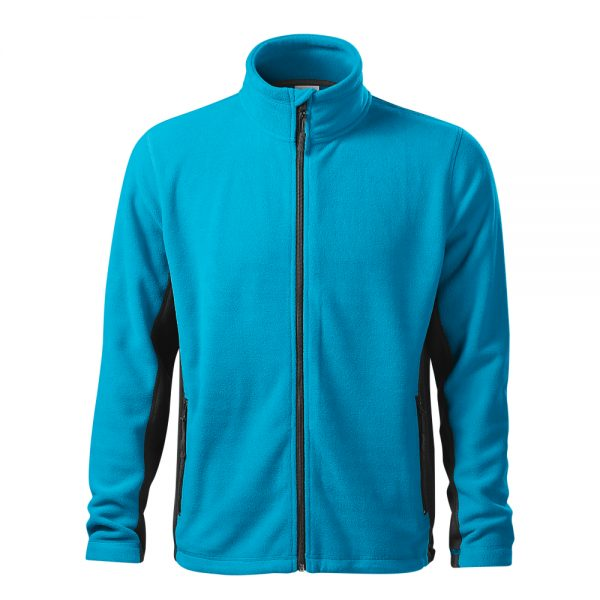 bluza fleece pentru barbati frosty azuriu
