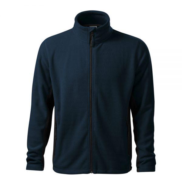 bluza fleece pentru barbati frosty bleumarin