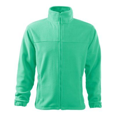 bluza fleece pentru barbati jacket verde menta