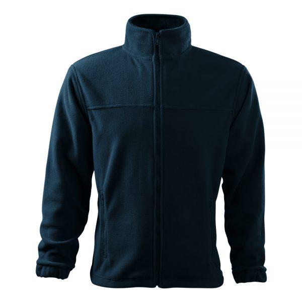 bluza fleece pentru barbati jacket bleumarin