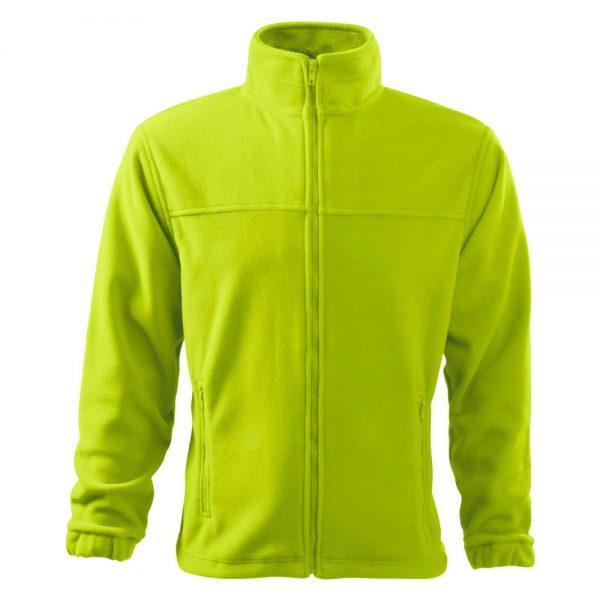 bluza fleece pentru barbati jacket lime