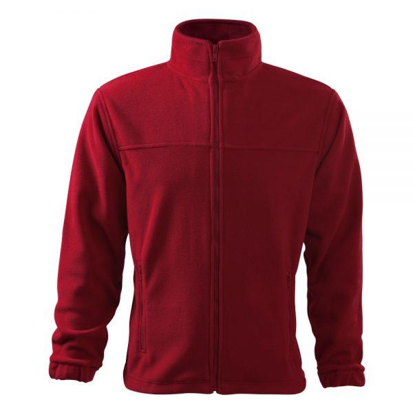 bluza fleece pentru barbati jacket rosu m