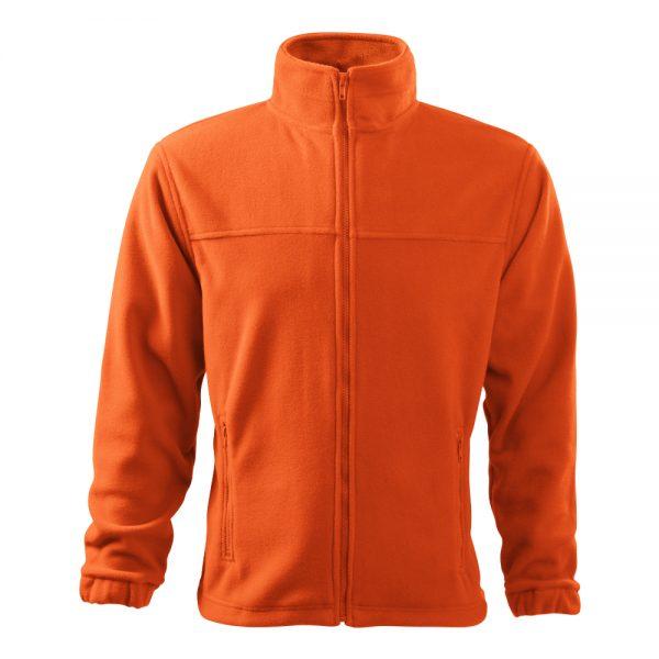 bluza fleece pentru barbati jacket portocaliu