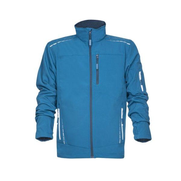 bluza functionala din softshell vision albastru