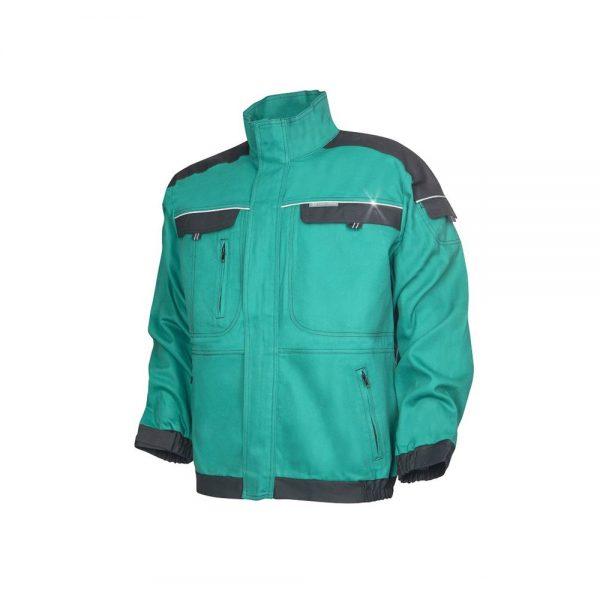 bluza salopeta cool trend verde cu negru