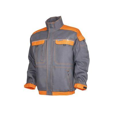 bluza salopeta cool trend gri cu portocaliu