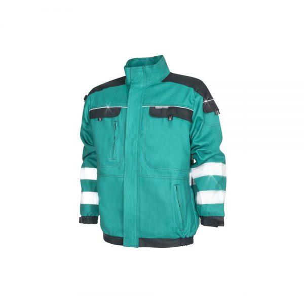bluza salopeta reflectorizanta cool trend verde