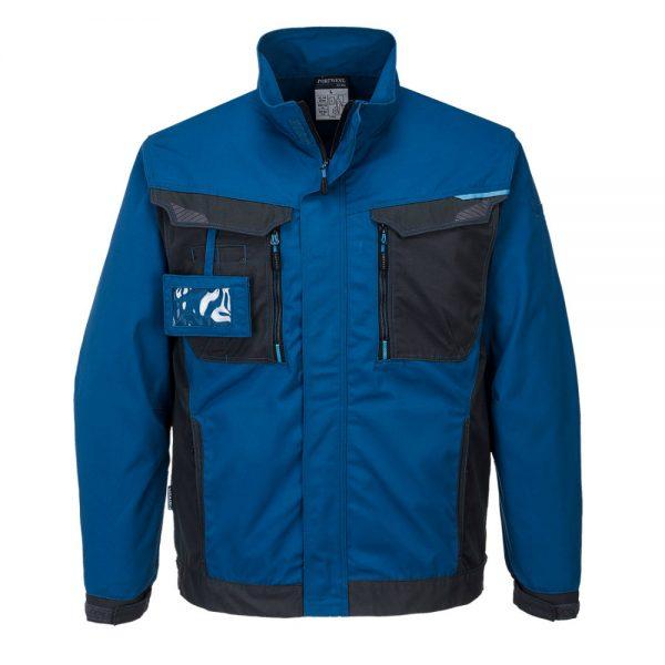 bluza salopeta wx3 work albastru