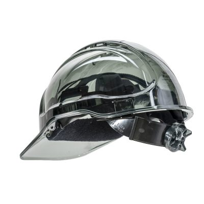 casca de protectie ventilata peak view gri