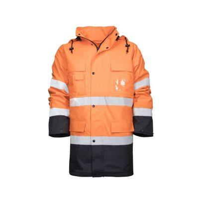 geaca reflectorizanta maxwell portocaliu