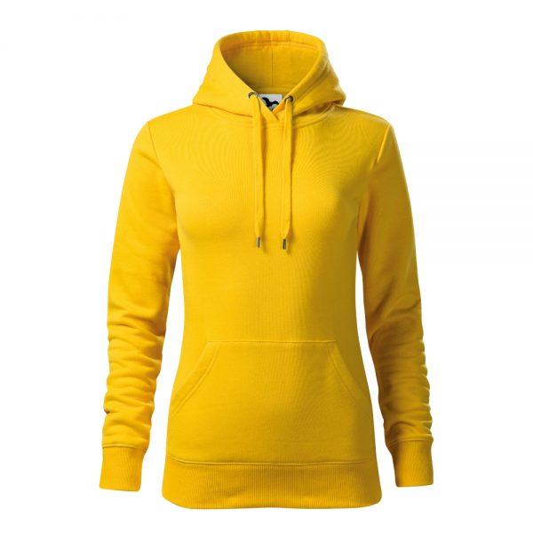 hanorac cape dama galben
