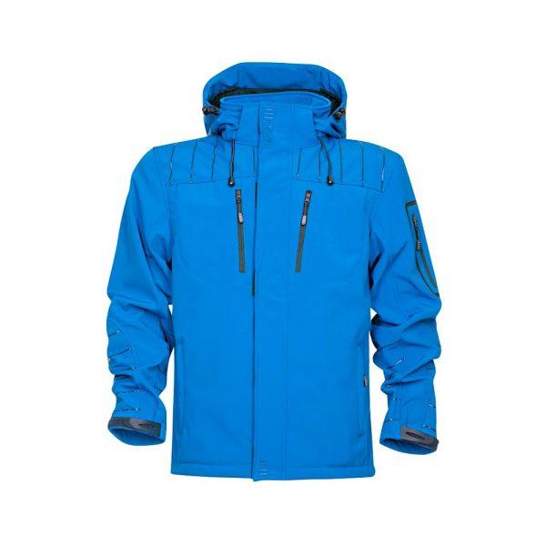 jacheta 4tech din softshell albastru