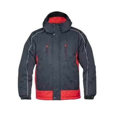 jacheta de iarna arpad negru rosu