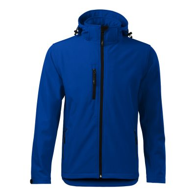 jacheta softshell pentru barbati performance albastru