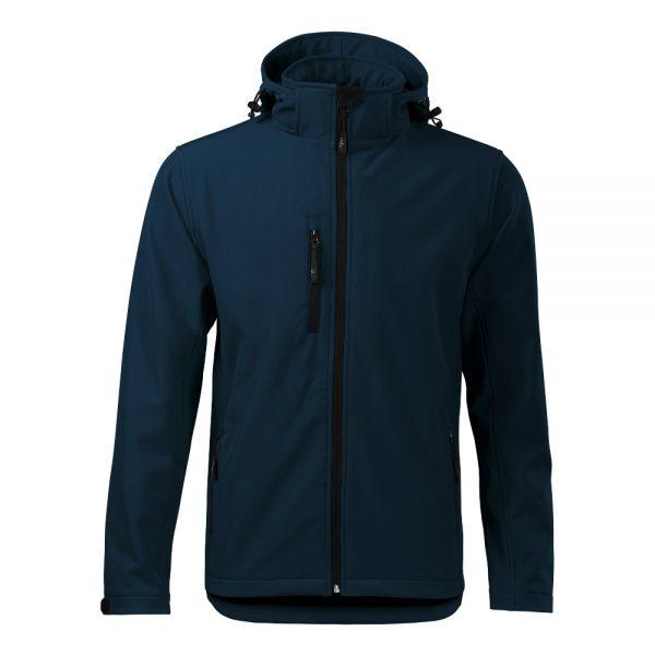 jacheta softshell pentru barbati performance bleumarin