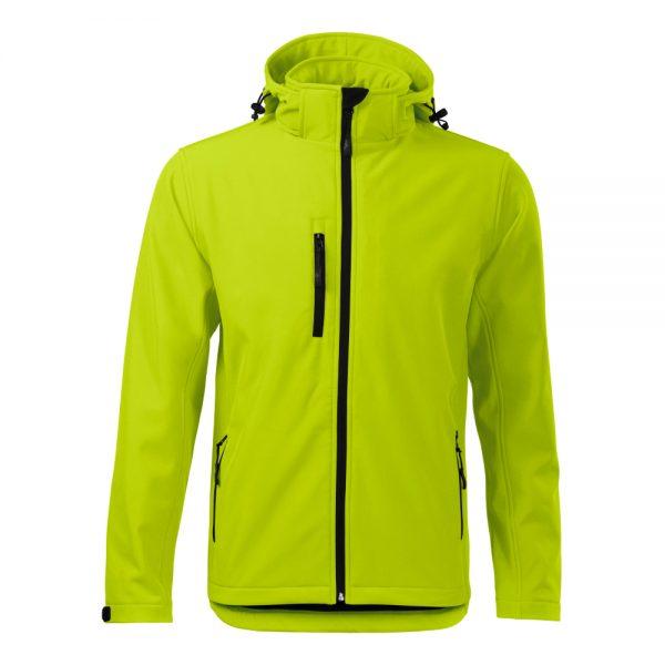 jacheta softshell pentru barbati performance lime