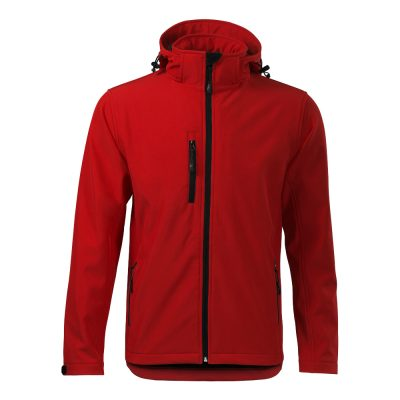 jacheta softshell pentru barbati performance rosu