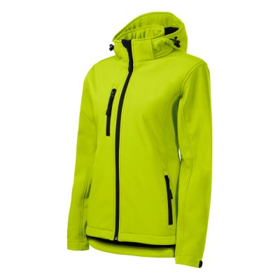jacheta softshell performance dama lime