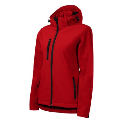 jacheta softshell performance dama rosu