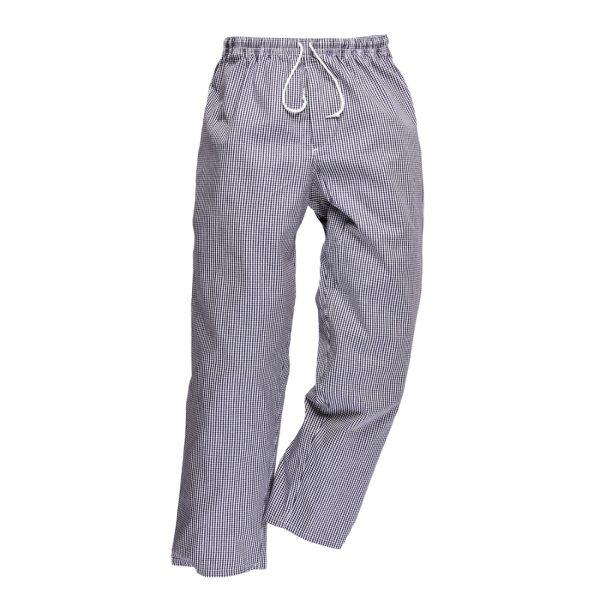 pantaloni de bucatar bromley check