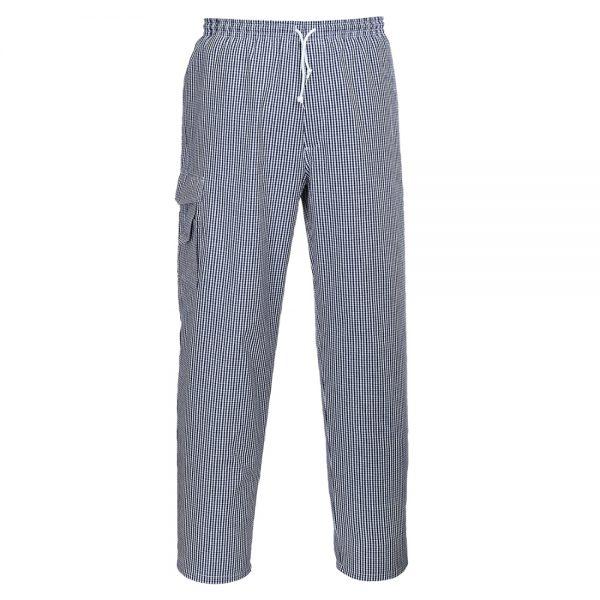 pantaloni de bucatar chester chefs check