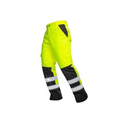 pantaloni de iarna reflectorizanti howard galben