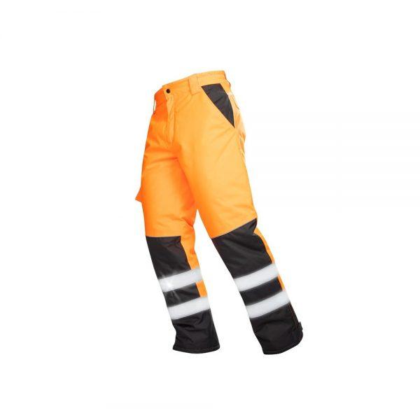 pantaloni de iarna reflectorizanti howard portocaliu