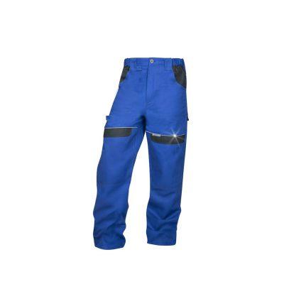 pantaloni salopeta talie cool trend albastru cu negru