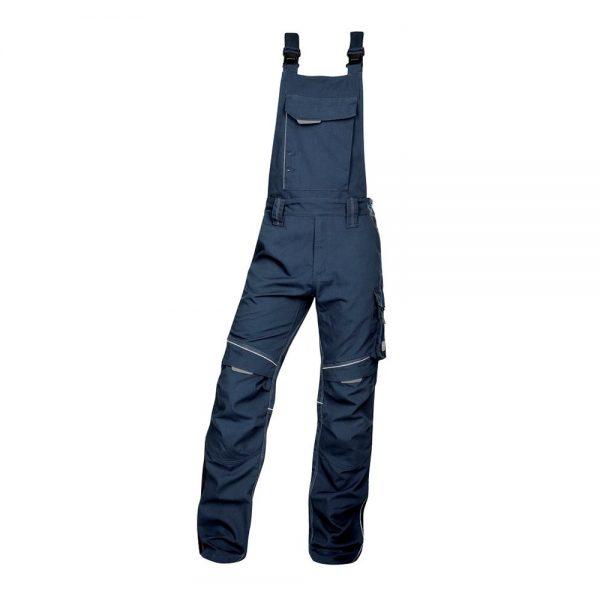 pantaloni salopeta cu pieptar hidrofobizati urban bleumarin