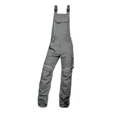 pantaloni salopeta cu pieptar hidrofobizati urban gri