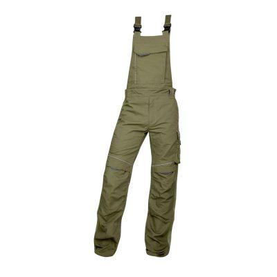 pantaloni salopeta cu pieptar hidrofobizati urban kaki