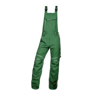 pantaloni salopeta cu pieptar hidrofobizati urban verde