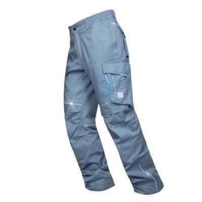 pantaloni salopeta de vara summer talie gri