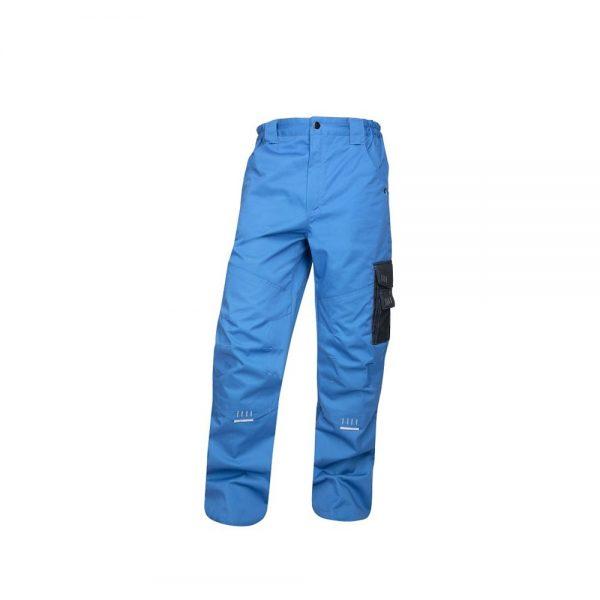 pantaloni de salopeta in talie 4TECH albastru