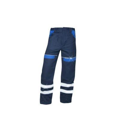 pantaloni salopeta talie reflectorizanti cool trend bleumarin