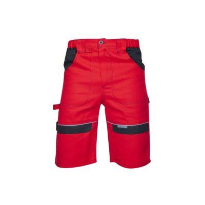 pantaloni scurti cool trend rosu negru