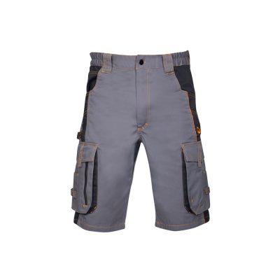 pantaloni scurti de lucru vision gri cu negru