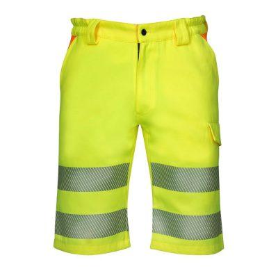 pantaloni scurti reflectorizanti signal