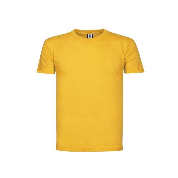 tricou din bumbac lima galben