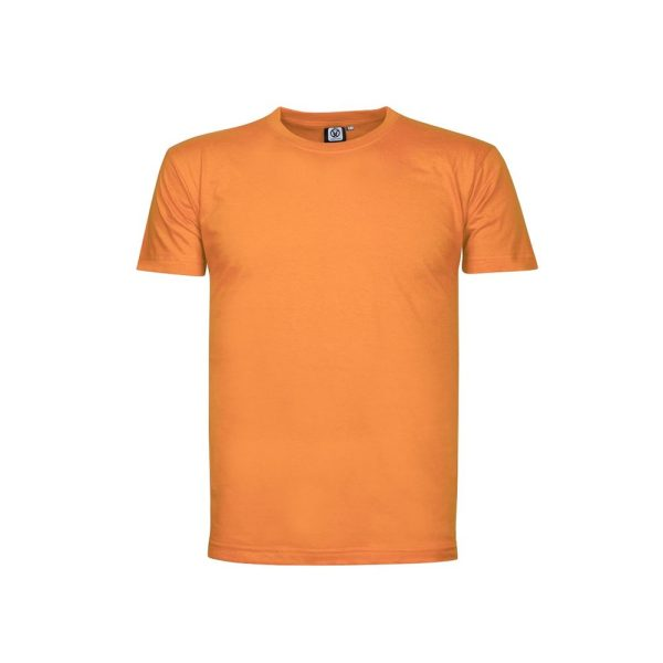 tricou din bumbac lima portocaliu
