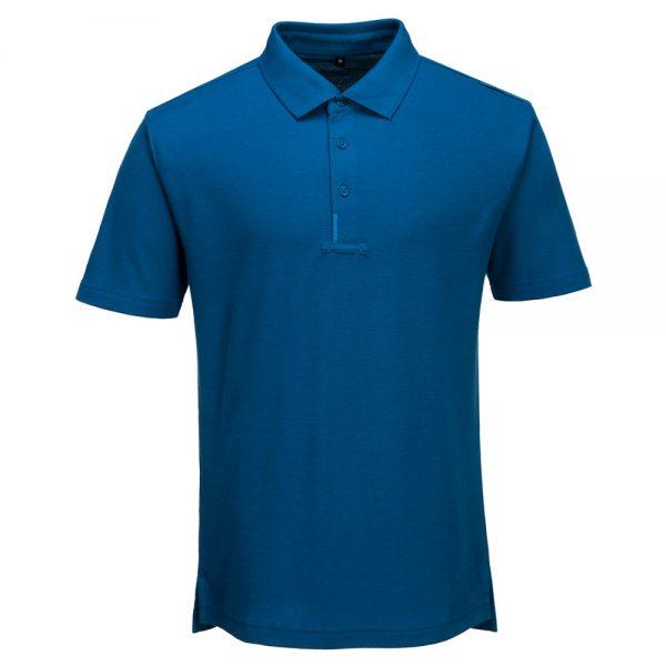 tricou polo wx3 albastru