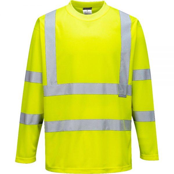 tricou reflectorizant cu maneci lungi