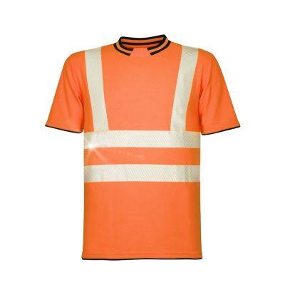 tricou reflectorizant signal portocaliu