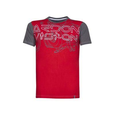 tricou vision rosu