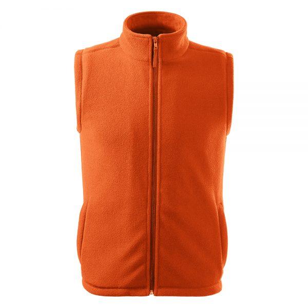 vesta fleece unisex next portocaliu